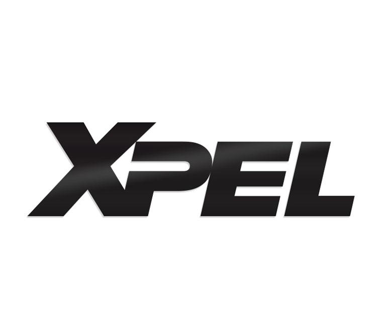Biểu tượng nhỏ màu xám phản xạ XPEL màu đen 1.82 ″ x 7.2 ″